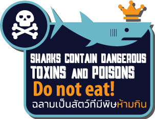 Sharks contain toxins info graphic