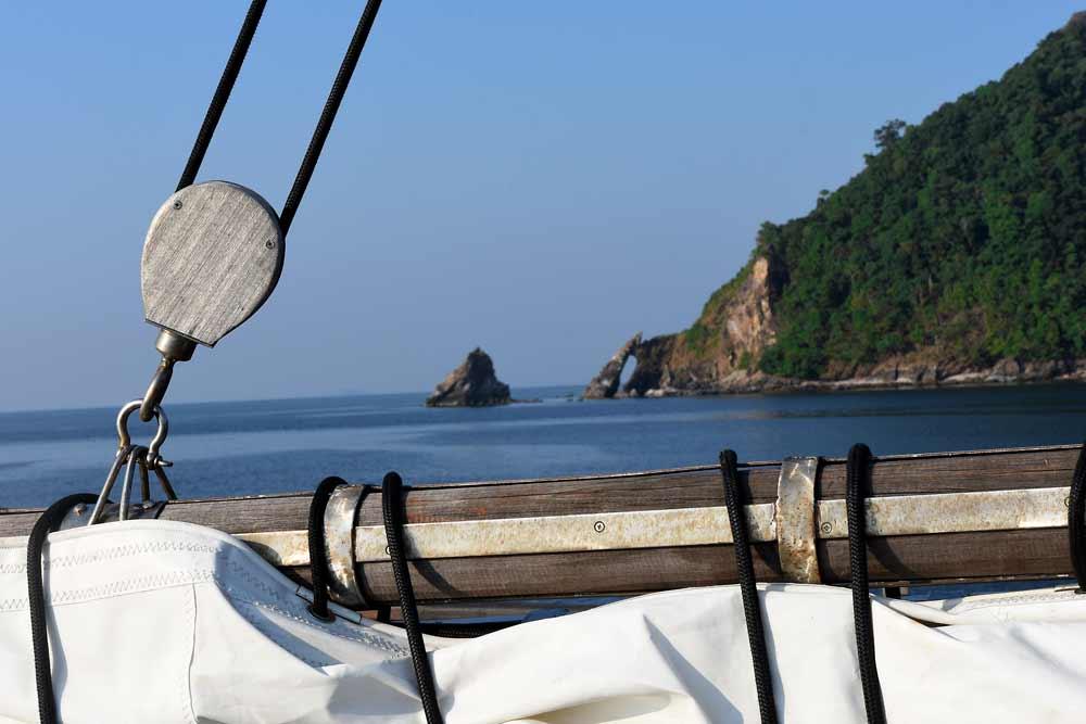 Diva Andaman sailing boat in Myanmar