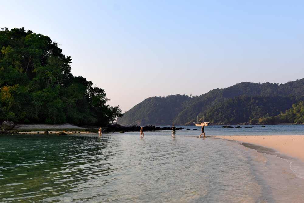 Island Beach visit in Mergui Archipelago Myanmar