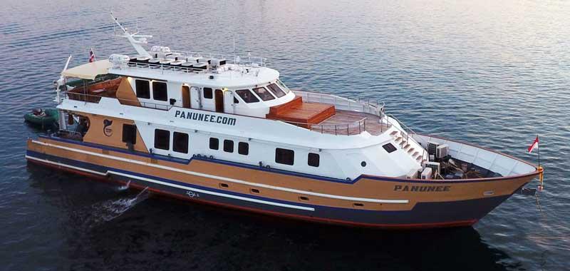 MV Panunee Raja Ampat Liveaboard