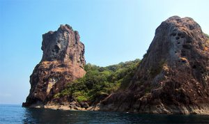 Tower Rock in Myanmar's Mergui Archipelago